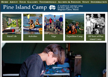 Click here to visit Pine Island Camp